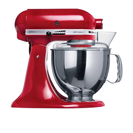 Artisan KSM150 StandMixer Empire Red