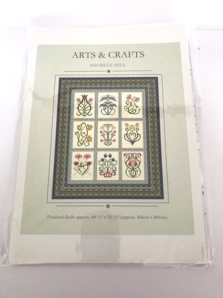 Arts & Crafts Applique Quilt Pattern