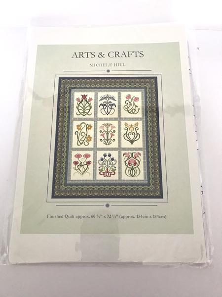 Arts & Crafts Applique Quilt Pattern