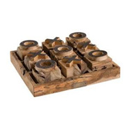 Artwood Noughts & Crosses Set