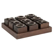 Artwood Noughts & Crosses Set Antique finish
