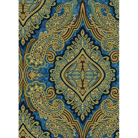 Aruba Paisley Teal Gold RJR3579001