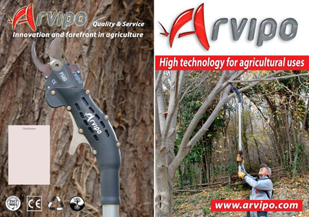 Arvipo extender poles for PS100 and PS110 models