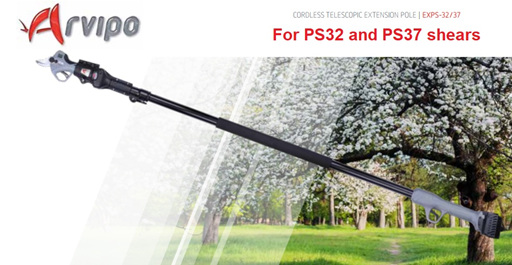 Arvipo PS32/37 Telescopic Extension Pole
