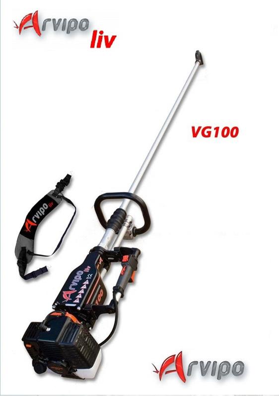 Arvipo VG100 vibrating olive harvester
