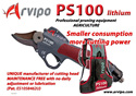 Arvipo PS100 - electronic pruning and trimming shears