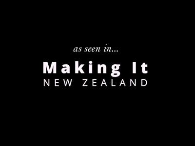 As seen in: Making It New Zealand