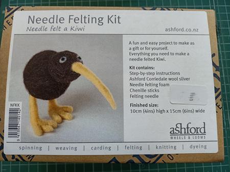 Ashford Needle Felting Kit - Kiwi