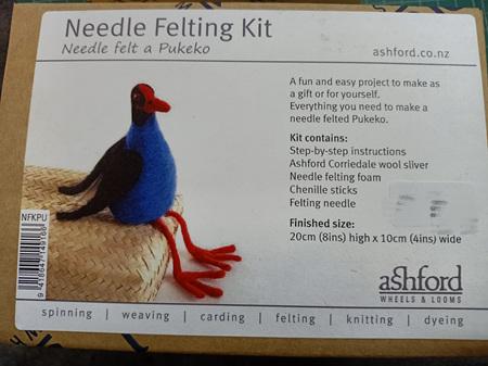 Ashford Needle Felting Kit - Pukeko