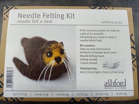Ashford Needle Felting Kit - Seal