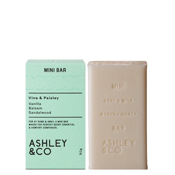 Ashley & CO MiniBar Vine & Paisley