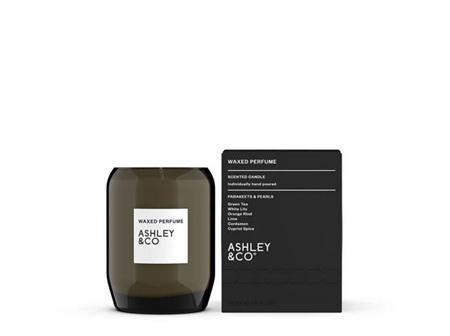 Ashley & Co Waxed Perfume Candle - Parakeets & Pearls