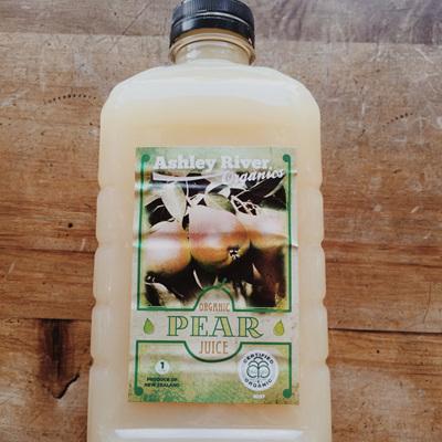 Ashley River Organic Pear Juice 1ltr