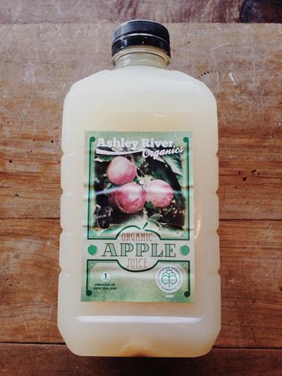 Ashley River Pure Organic Apple Juice - 1 L