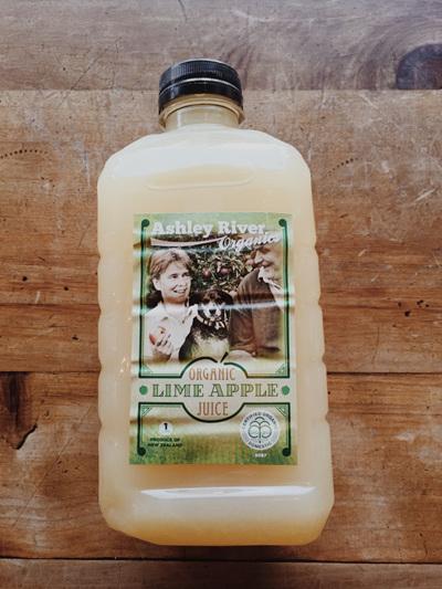 Ashley River Pure Organic Apple & Lime Juice - 1 L