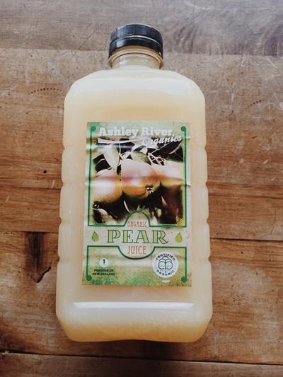 Ashley River Pure Organic Pear Juice - 1 L