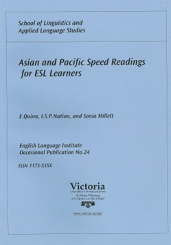 Asian and Pacific Speed Readings