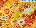 Asian Circles Orange