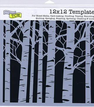 Aspen Tree  12 x 12
