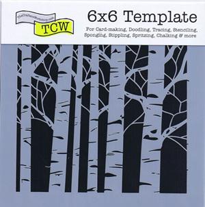 "Aspen Trees 6x6"""