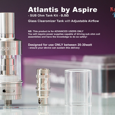 Aspire Atlantis SUB OHM Tank Kit