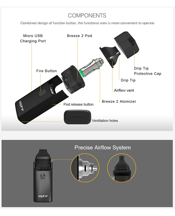 Aspire Breeze 2 @ Naked Vapour