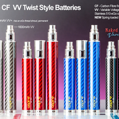 Aspire CF VV Twist Style Battery