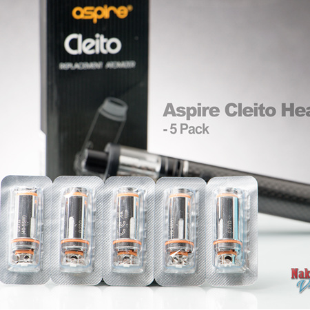 Aspire Cleito Heads - 5 Pack