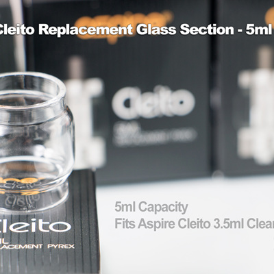 Aspire Cleito Replacement Glass Section - 5ml - Fatboy