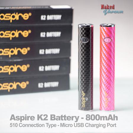 Aspire K2 Battery - 800mAh