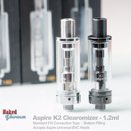 Aspire K2 Clearomizer - 1.8ml