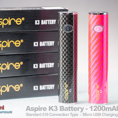 Aspire K3 Battery - 1200mAh