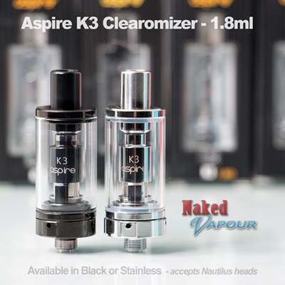 Aspire K3 Clearomizer - 2ml
