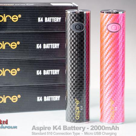 Aspire K4 Battery - 2000mAh - Sub Ohm