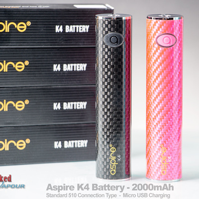 Aspire K4 Battery - 2000mAh - Sub Ohm