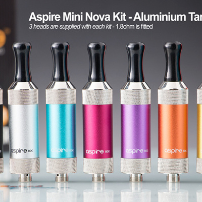 Aspire Mini Nova Kit - Aluminium Tank