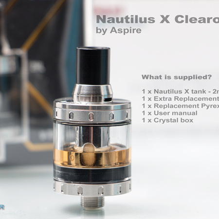 Aspire Nautilus X Clearomizer