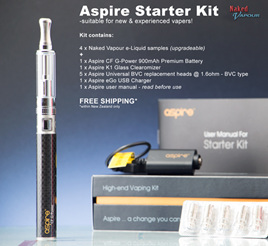 Aspire K1 Starter Kit - Complete