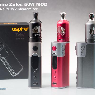 Aspire Zelos 50W MOD with Nautilus 2 Clearomizer