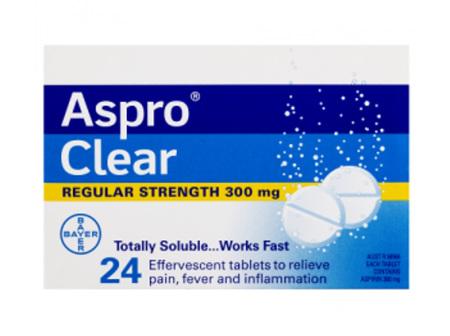 ASPRO Clear 300mg 24tabs