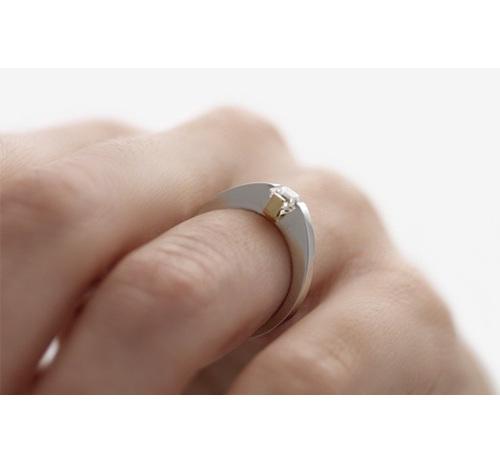Asscher Cut Diamond on hand
