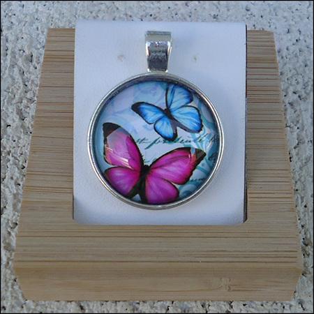 Assorted Glass Dome Jewellery