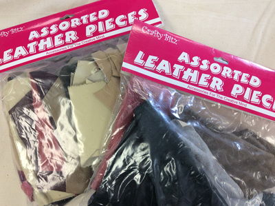 Asstd Leather pieces
