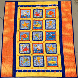 At the Beach Cot Quilt