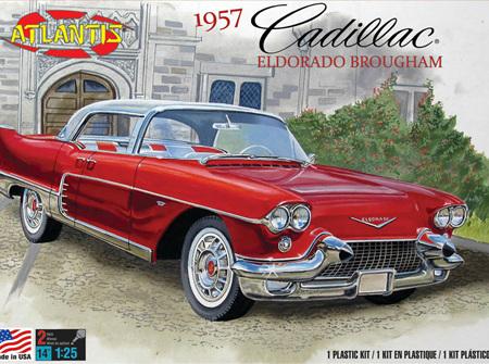 Atlantis 1/25 1957 Cadillac Eldorado Brougham (ALM1244)