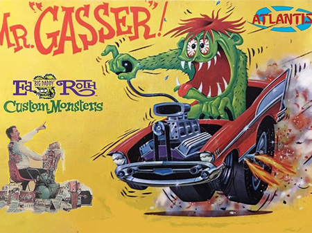Atlantis Mr Gasser Ed Big Daddy Roth Custom Monsters