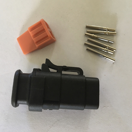 ATM 6 way plug kit with strain relief