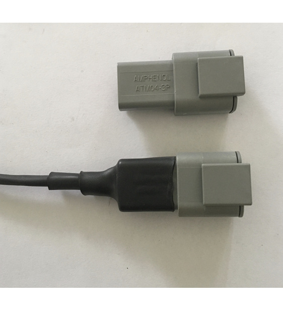 ATM connector with ATUM adhesive
