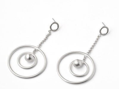 Atom Dangle Earrings