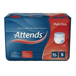 Attends Pull-Ons Plus 5 - X-Large
